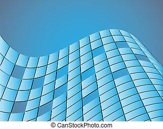 抽象的, 正方形, 背景