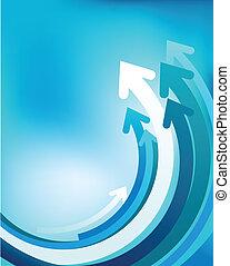 抽象的, 波, 背景, -, 2