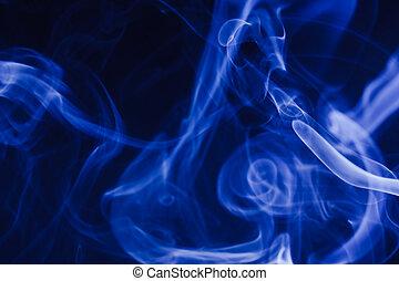 抽象的, 煙