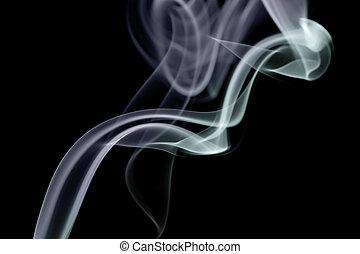 抽象的, 煙, 背景