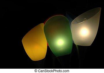 抽象的, 照明