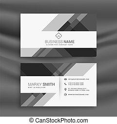 抽象的, 現代 ビジネス, カード, デザイン