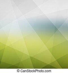 抽象的, 現代, ベクトル, バックグラウンド。, pattern., illustration., 自然
