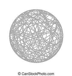 抽象的, 球