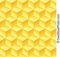抽象的, 立方体, カラフルである, 背景
