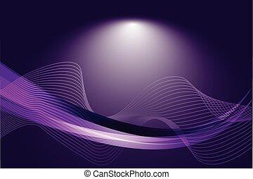 抽象的, 紫色, 勾配, 背景