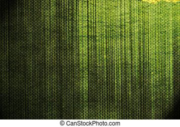 抽象的, 緑, グランジ, 背景