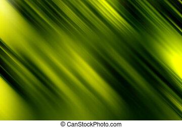 抽象的, 緑