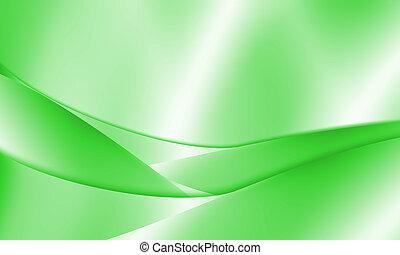 抽象的, 緑, 線, 背景