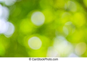 抽象的, 緑, 自然, 背景