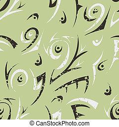 抽象的, 緑, seamless