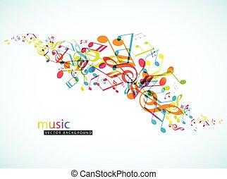 抽象的, 背景, ∥で∥, カラフルである, tunes.