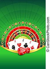 抽象的, 背景, ∥で∥, ギャンブル, 要素