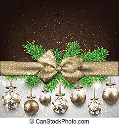 抽象的, 背景, ∥で∥, クリスマス, balls.