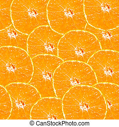 抽象的, 背景, ∥で∥, citrus-fruit, の, オレンジ, slices., close-up.