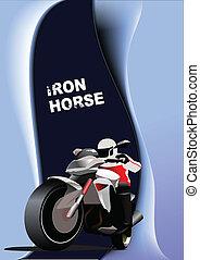 抽象的, 背景, ∥で∥, motorcyc
