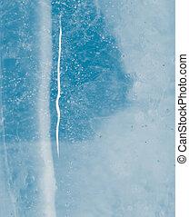 抽象的, 背景, の, 青い氷