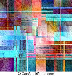 抽象的, 背景