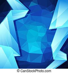 抽象的, 背景, デザイン, 幾何学的, template.