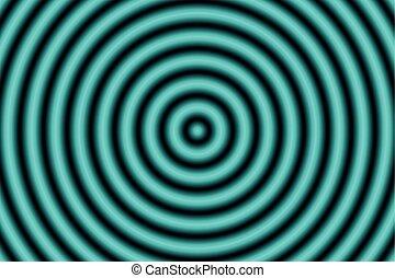 抽象的, 背景, 円