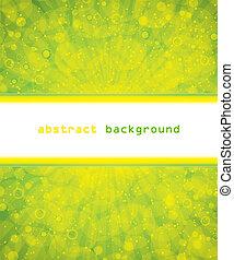 抽象的, 背景, 明るい緑