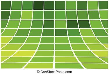抽象的, 背景, 緑