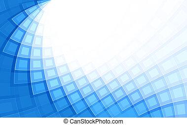 抽象的, 背景, 青