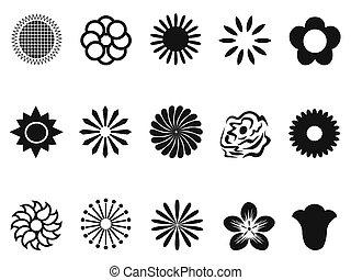 抽象的, 花, アイコン