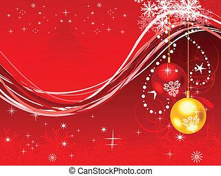 抽象的, 芸術的, クリスマス