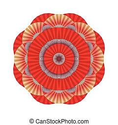 抽象的, 装飾, 円