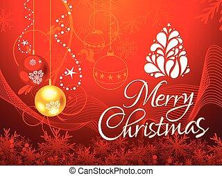抽象的, 詳しい, 背景, クリスマス, 芸術的