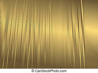 抽象的, 金 背景, (vector)