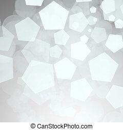 抽象的, 銀, 背景, 冬