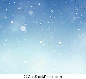 抽象的, 雪, 主題, 背景