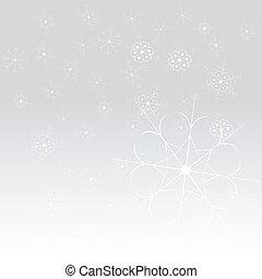 抽象的, 雪, 背景, ベクトル