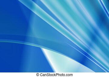 抽象的, 青い背景