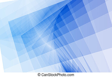 抽象的, 青い背景, 単純である, きれいにしなさい