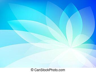 抽象的, 青い背景, 壁紙