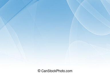 抽象的, 青い背景, 手ざわり