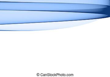 抽象的, 青, デザイン要素