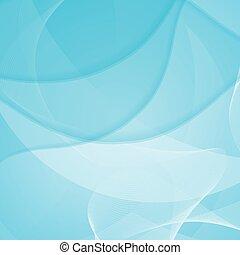 抽象的, 青, デザイン, 背景