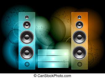 抽象的, 音楽