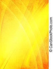抽象的, 黄色の背景