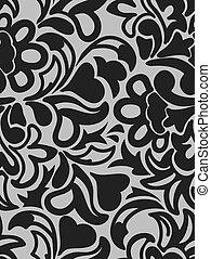 抽象的, black-gray, 背景