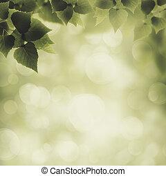 抽象的, eco, そして, 環境, 背景, ∥ために∥, あなたの, デザイン