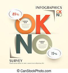 抽象的, infographics, チャート, comments, 返答, origami