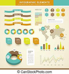 抽象的, infographics