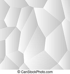 抽象的, pattern., 創造的, ベクトル, 背景, 白, 細胞, design.