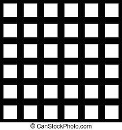 抽象的, pattern., repeatable., 背景, vector., モノクローム, seamlessly
