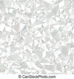 抽象的, polygonal, 灰色, そして, 白い背景, ∥ために∥, 普遍的, application.